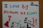 Art, #295 I love Big Brothers & BigSisters