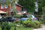 Faribault storm, #20 vehiclesclose-up