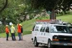 Faribault storm, #74 Cedar Lake Electric & othercrews