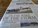 Faribault storm newpaper frontpage