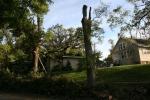 Storm, #10 tree on garage First AvenueSW