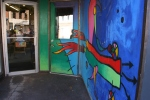 Art in Decorah, #130 the Cardboard Robotentry