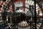 Art in Decorah, #135 Ferris Wheel made fromKNEX