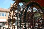 Art in Decorah, #136 Ferris Wheel made fromKNEX