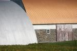 Backroads, #183 farm buildingclose-up
