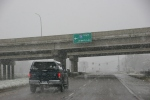 Snow, #200 south to Albert Leasign
