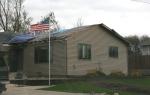Storm damage, #73 house withdamage