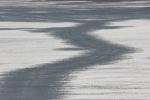 Winter walk in Minnesota, #15 crack inice