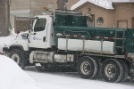 February storm MN, #87 Faribault snowplowtruck