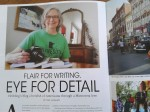 Magazine feature on Audrey –Copy