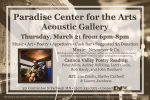 Paradise event music &poetry