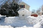 Winter scenes, #44 snowhouse