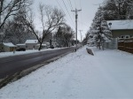 Snow, Willow St. April10