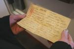 WW I exhibit, #73 dear motherletter