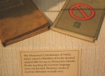 WW I exhibit, #77 bannedbooks