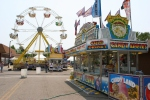 Carnival, #116 food stand and ferriswheel