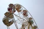 Carnival, #119 ferris wheel carsclose-up