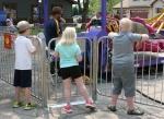 Carnival, #145 kids atfence