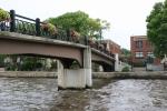 Northfield MN, #112 ped bridge across CannonRiver
