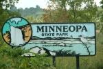 Bison, #132 Minneopa parksign