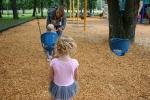 At the playground, both kids#107