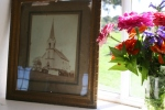 Country social, #16 historic church photo & flowers