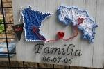 Hispanic fest, #14 familia stringart