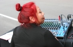 Hispanic fest, #198 working the sound board