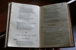 Night at the Museum, #42 hymnbook from the1800s