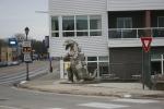 Art in Mankato, #4914 dinosaursculpture