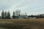 Wisconsin, #4759 farm site & cornfield inMN