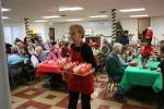 Christmas dinner, #5396 cupcakeserver
