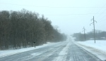 Winter storm, #5730 Rice County Road25