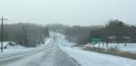 Winter storm, #5771 entering Faribault via hwy60