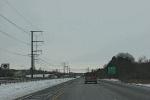 Eastbound on Interstate 90 inWisconsin
