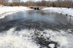 February in Faribault, MN, #6088 view from Cannon Riverdam