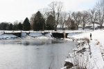February in Faribault, MN, #6133 angler far away along the CannonRiver
