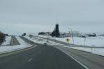 Interstate 90 in southeasternMinnesota