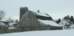 Rural landscapes, #6045 weathered barn &house