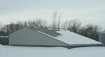 Rural landscapes, #6048 slant roofed shed along CR15