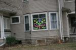 Hearts in window, #6722 house Faribault,MN