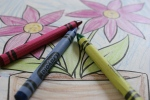 Care, #6906 color crayons andpic
