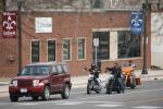 Signs of spring in MN, #6865 bikers inFaribault