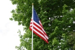 Cannon City Cemetery, #7831 flag onflagpole