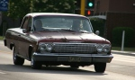 Car cruise, #8280 maroonChevy