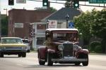Car cruise, #8296 old marooncar
