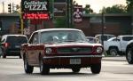 Car cruise, #8325 redMustang