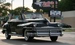 Car cruise, #8328 old blackconvertible