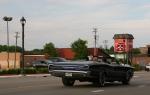 Car cruise, #8343 back of black Pontiacconvertible