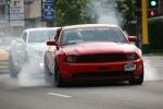 Car cruise, #8400 red car burningtires